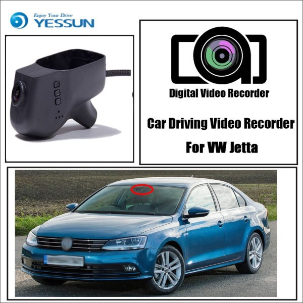 YESSUN for Volkswagen Jetta Car DVR Mini Wifi Camera Driving Video Recorder Novatek 96658 Registrator Dash Cam