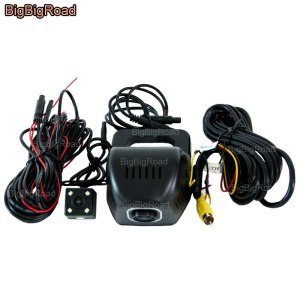BigBigRoad For Ford Focus 2 3 transit Super Duty ka Expedition S-MAX 2008 falcon Car Wifi DVR Video Recorder Dash Cam