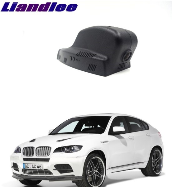 Liandlee For BMW X6 E71 2008~2012 Car Road Record WiFi DVR Dash Camera Driving Video Recorder