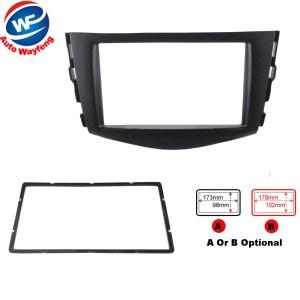 Car refitting DVD frame, DVD panel, Dash Kit, Fascia, Radio Frame,Audio frame Fit For 2006-2012 Toyota RAV4,2DIN