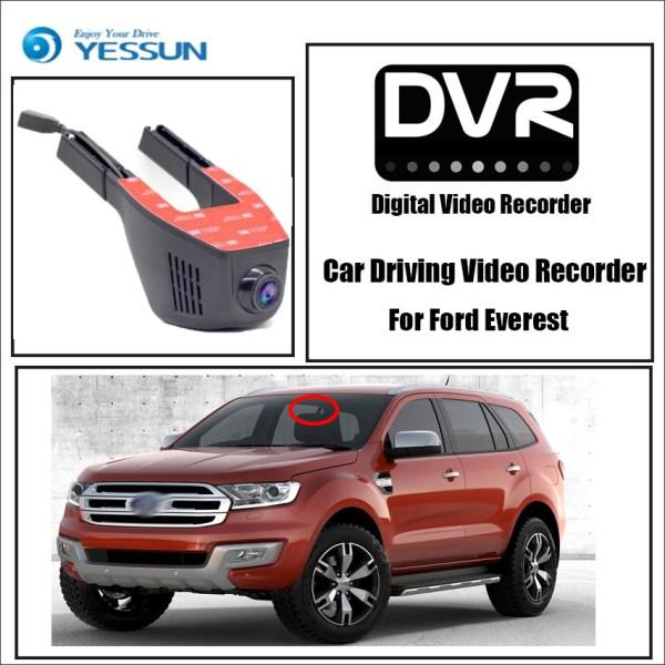 YESSUN Car Driving Video Recorder Wifi DVR Mini Camera Novatek 96658 FHD 1080P Dash Cam Night Vision for Ford Everest