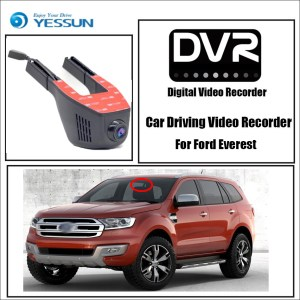 YESSUN Car Driving Video Recorder Wifi DVR Mini Camera Novatek 96658 FHD 1080P Dash Cam Night Vision for Ford Everest