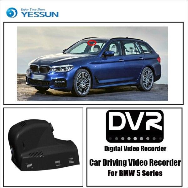 YESSUN for BMW 5 Series Driving Recorder APP Control Car wifi DVR Novatek 96658 Car Dash Cam Front camera Keep Video Recorder