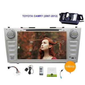 Free Camera in Dash Quad-core Android 5.1.1 Lollipop Stereo system GPS Navigation Car DVD Player Special for TOYOTA CAMRY (2007-
