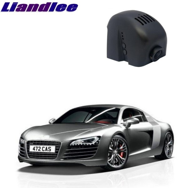 Liandlee For Audi R8 2007~2016 Car Road Record WiFi DVR Dash Camera Driving Video Recorder