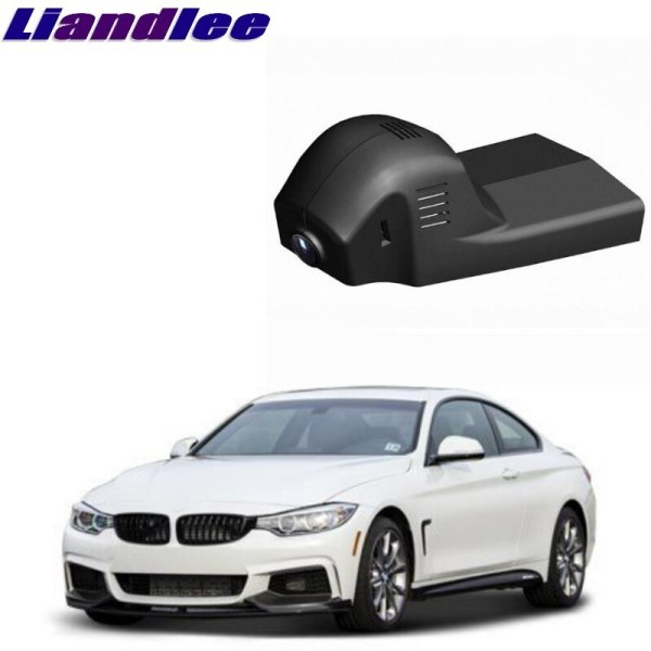 Liandlee For BMW 4 Series M4 F32 F33 F36 Car Road Record WiFi DVR Dash Camera Driving Video Recorder