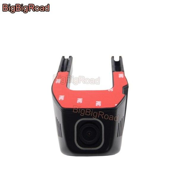 BigBigRoad For Acura ZDX RDX ILX MDX CDX TL TLX Car Dash Cam APP Control Car Wifi DVR Hidden Installation Dual lens