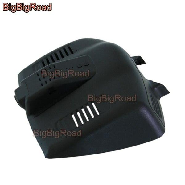 BigBigRoad For Ford Mondeo 2015 High configuration Car wifi DVR Video Recorder dash cam Keep Car Original Style