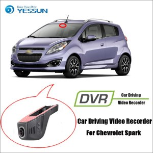YESSUN for Chevrolet Spark Car DVR Driving Video Recorder Mini Control APP Wifi Camera Registrator Dash Cam Night Vision
