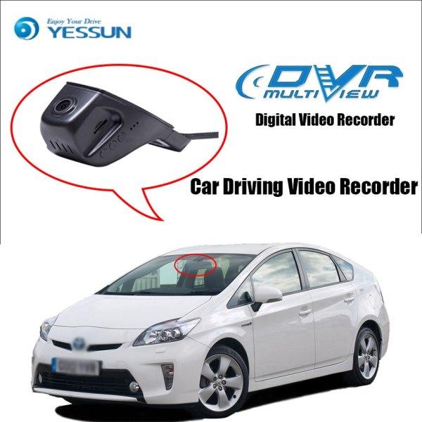 For Toyota Prius Car Driving Video Recorder DVR Mini Control APP Wifi Camera Registrator Dash Cam Night Vision