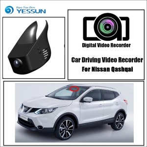 YESSUN for Nissan Qashqai Car DVR Driving Video Recorder Mini Control APP Wifi Camera FHD 1080P Registrator Dash Cam