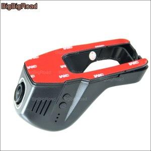 BigBigRoad For Renault Symbol Car wifi DVR Car Driving Video Recorder Hidden installation Car Dash Cam night vision