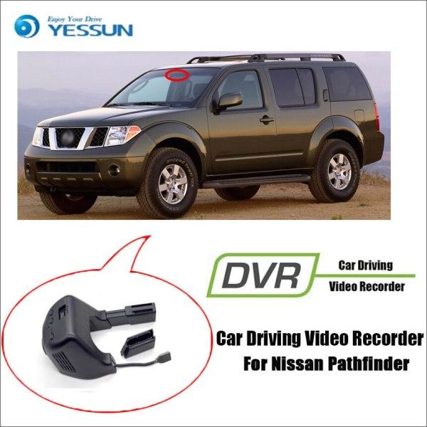 YESSUN for Nissan Pathfinder Car Driving Video Recorder DVR Mini Control APP Wifi Camera FHD 1080P Registrator Dash Cam
