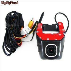 BigBigRoad For Nissan Teana Car wifi DVR Video Recorder Novatek 96655 FHD 1080P Hidden installation car Dash Cam