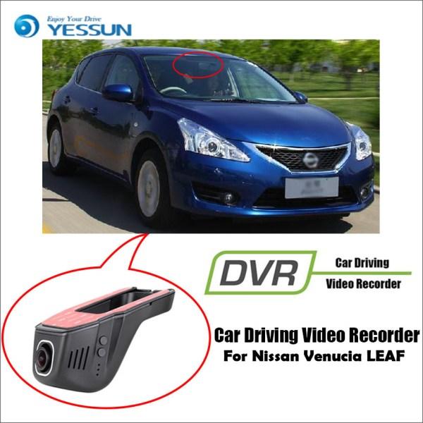 YESSUN for Nissan Venucia LEAF Car Driving Video Recorder DVR Mini Control APP Wifi Camera Registrator Dash Cam