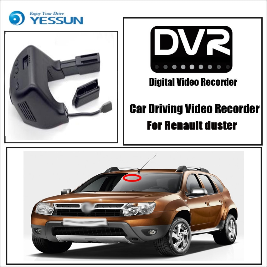 Renault Duster Car Wifi DVR Dash Cam Night Vision Best