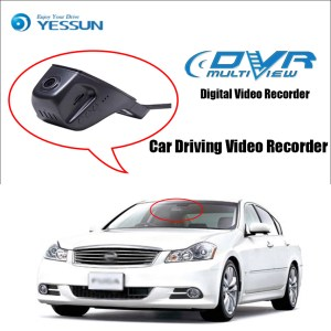 YESSUN for Nissan Fuga Car Driving Video Recorder Wifi DVR Mini Camera Novatek 96658 FHD 1080P Dash Cam Night Vision