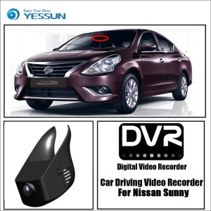 YESSUN for Nissan Sunny Car DVR Driving Video Recorder Mini Control APP Wifi Camera FHD 1080P Registrator Dash Cam