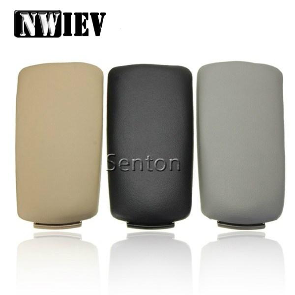 NWIEV 3 Color Leather Car Center Console Armrest Cover For Audi A4 B6 B7 Audi A4 2002 2003 2004 2005 2006 2007 Auto Accessories