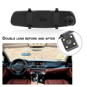 Dual Lens Car Camera Rearview Mirror Auto DVRs Cars Parking Video Recorder Dash Cam Full 1080p Night Vision DVR
