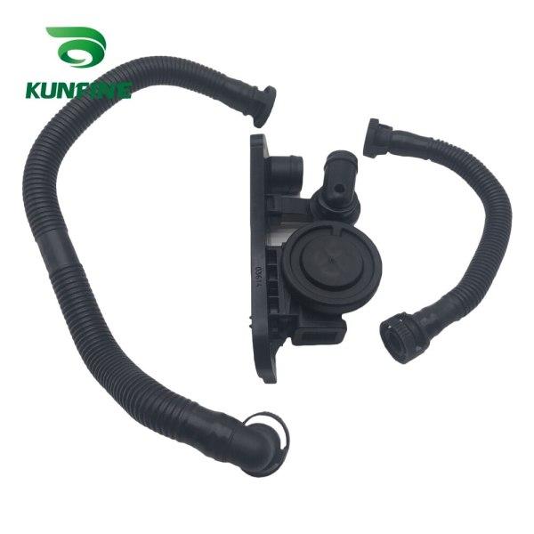 06F129101N Exhaust valve Plastic Cylinder Head Cover Breather Hose Pressure Regulator Valve Kit for Audi A6L 2.0T 06F 129 101 N
