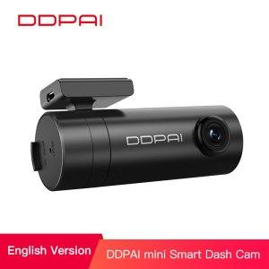 DDPai Mini Car DVR APP English Version 1080P HD Night Vision Car Camera Recorder WiFi f2.2 WDR Dash Cam