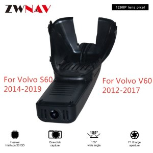 Hidden Type HD Driving recorder dedicated For Volvo S60 2014-2019/ V60 2012-2017 DVR Dash cam Car front camera WIfi