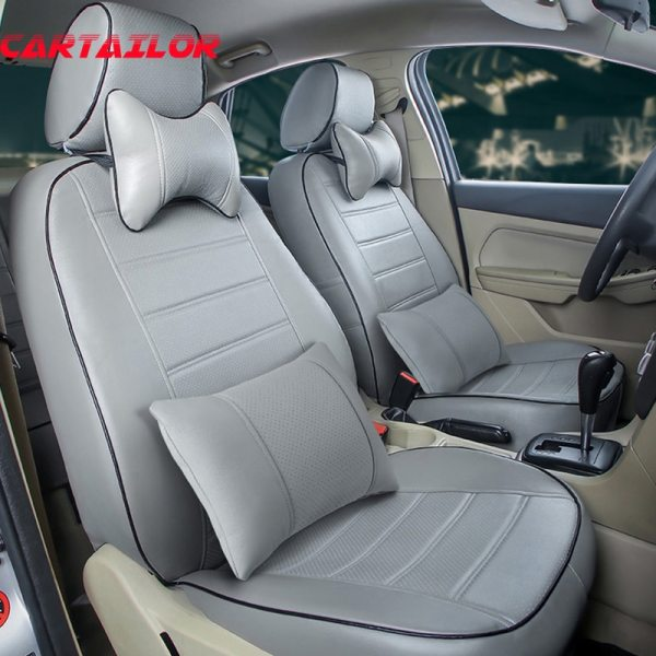 CARTAILOR car cushion for land rover range rover sport car seat cover PU leather seat covers & supports car interior accessories