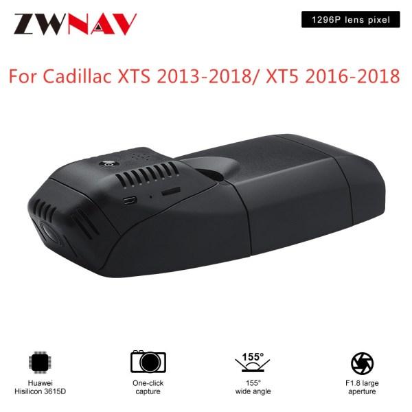 Hidden Type HD Driving recorder dedicated For Cadillac XTS 2013-2018/XT5 2016-2018 DVR Dash cam Car front camera WIfi