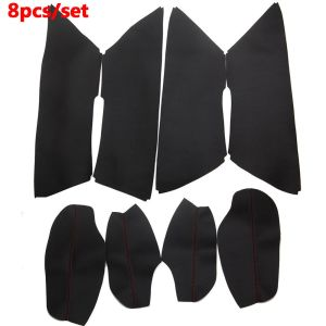 BBQ@FUKA PU Leather Car Panel Surface Cover interior Shell Trim For Mazda CX-5 Car Door Armrest decoration decals car-styling