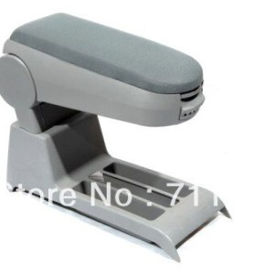 Center Console Armrest Cloth Grey For Volkswagen Polo 9N 9N3
