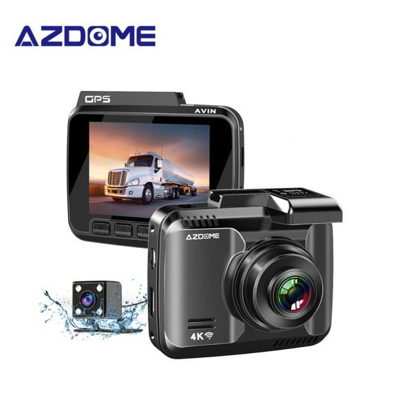 AZDOME 4K Car Dvr GPS GS63H Dash Cam Wifi Vehicle Rear View Camera Dual Lens Night Vision Dashcam 24H Monitor Parking Monitor