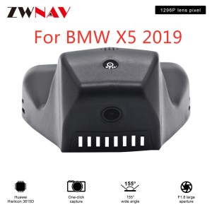 Hidden Type HD Driving recorder dedicated For BMW X5 2019 DVR Dash cam Car front camera WIfi