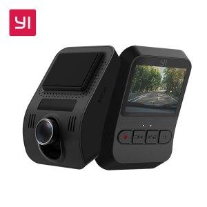 YI Mini Dash Cam 1080p FHD Dashboard Video Recorder Wi-Fi Car DVR Camera with 140 Degree Wide-angle Lens Night Vision G-Sensor