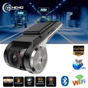 Car Camera ADAS DVR Full HD 1080P Video Recorder G-Sensor Wi-fi With TF Card Night Version Motion Detection Car Dash Cam USB