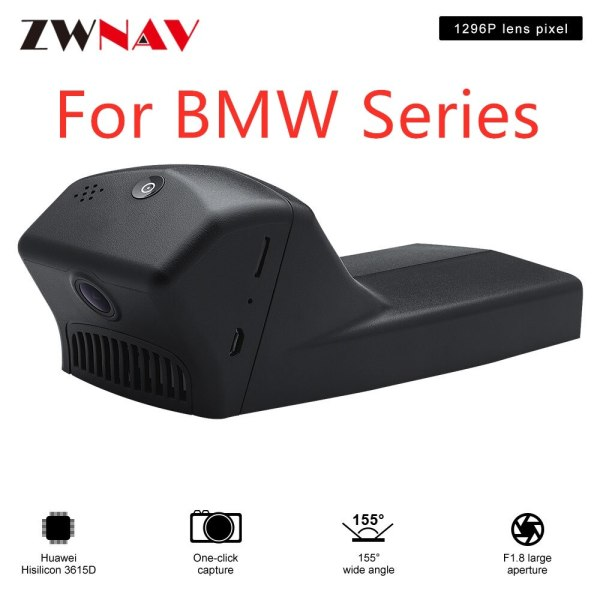 Hidden Type HD Driving recorder dedicated For BMW Series DVR Dash cam Car front camera WIfi