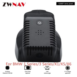 Hidden Type HD Driving recorder dedicated For BMW 1 Series / 3 Series / X1 / X5/ X6 DVR Dash cam Car front camera WIfi