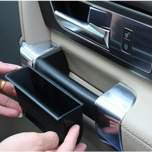 Car Styling!4pcs Inner Plastic Side Door Armrest Storage Box For Land Rover LR4 Discovery 4 2010-2015