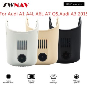 Hidden Type HD Driving recorder dedicated For Audi A1 A4L A6L A7 Q5,Audi A3 2015 DVR Dash cam Car front camera WIfi
