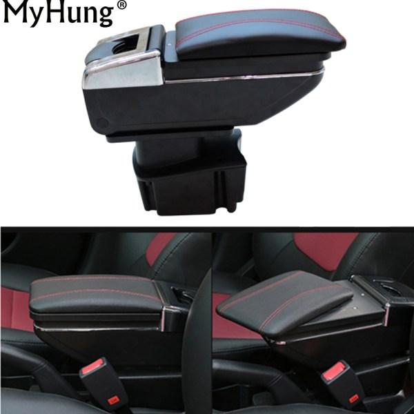 Car Armrest Center Console Storage Box For KIA Rio K2 2011 2012 2013 2014 2015 Auto Accessories Car-Styling Auto Accessories