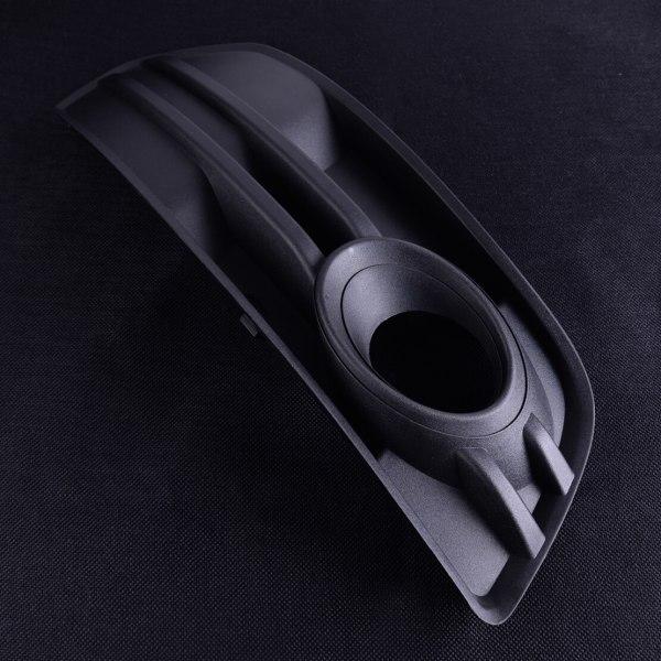 DWCX Black Plastic Right Side Front Bumper Vent Grill Fog Light Grille Cover 8R0807682A01C Fit For AUDI Q5 2009 2010 2011 2012