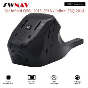 Hidden Type HD Driving recorder dedicated For Infiniti Q50L 2015-2018 /ESQ 2014 DVR Dash cam Car front camera WIfi