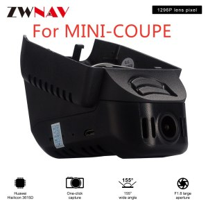 Hidden Type HD Driving recorder dedicated For MINI-COUPE DVR Dash cam Car front camera WIfi