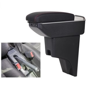 CITYCARAUTO Stowing Tidying INTERIOR CENTROL ARMREST BOX STORAGE FIT FOR PERODUA BEZZA CAR INTERIOR ARMREST BOXES