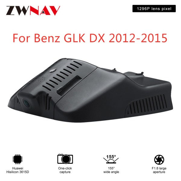 Hidden Type HD Driving recorder dedicated For Benz GLK DX 2012-2015 DVR Dash cam Car front camera WIfi