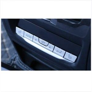 lsrtw2017 abs car armrest rear air conditioner buttons chrome trims for bmw x3 2018 2019 2020 g01
