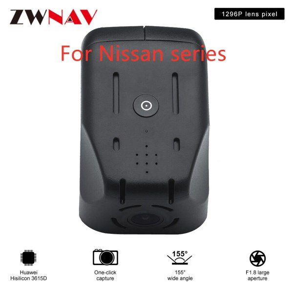 Hidden Type HD Driving recorder dedicated For Nissan series DVR Dash cam Car front camera WIfi