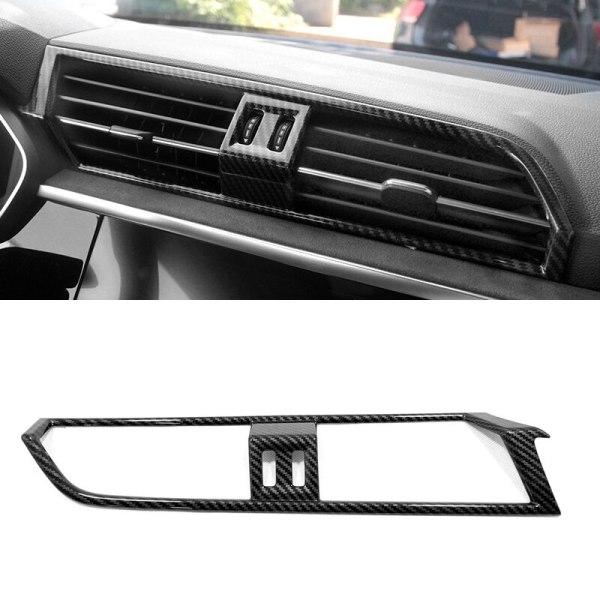 Left Hand Drive! For Audi Q3 2019 2020 Car Interior Center Console Air Vent Outlet Cover Trim ABS Plastic Auto Accessories