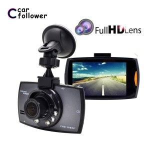 Full HD 1080P Car DVR 2.7 Inch IPS Screen Car Camera Dual Lens Dash Cam Video Recorder Night Vision G-sensor Registrator