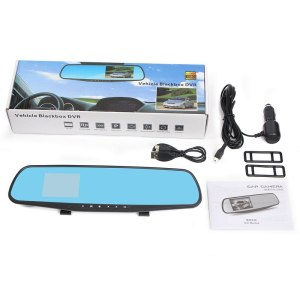 Franchise Ultra-thin Car DVR 1080P 2.8 inch CAM HD LCD Car Mirror Camera HD Vehicle DVR Cam Recorder Dashboard #0704